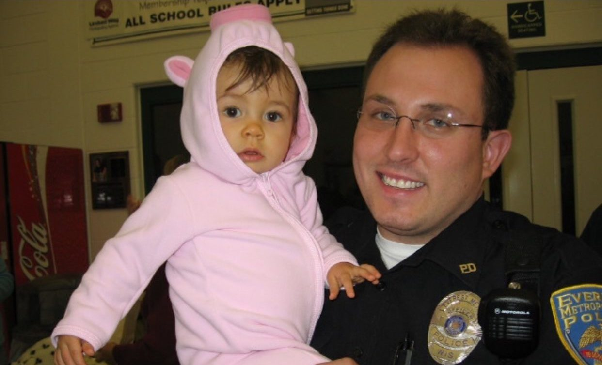 officer weiland and daughter